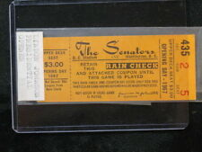 Vintage 1967 Washington Senators Opening Day Ticket Stub Lyndon Johnson Pres