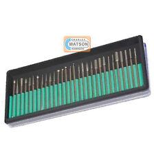 30 Piece Rotary Diamond Burr Set Kit Dremel Compatible Multi Tool Accessories