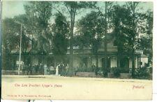 POSTCARD Paul Kruger House