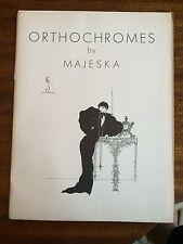 Orthochromes by Majeska [Mme. Majeska] Fine Illustrations c. 1930