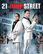 21 Jump Street signed Channing Tatum Hill 8X10 photo picture autograph poster RP