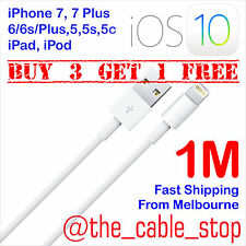 USB Cable Charger for Apple iPhone X 8 7 6 6S Plus Lead Cord DATA 8-PIN 1M iOS11