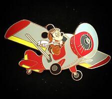 LE 75 Expedition Parachuting Aviator Pilot Captain Mickey Airplane Disney Pin