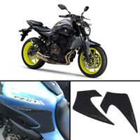 Tank Traction Side Pad Gas Knee Grip Protector Anti slip For Yamaha MTT690P-AB