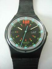 GB724 New Swatch - 1992 Batticuore Date & Day Swiss Made Authentic