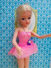 Stunning blonde 1970s ballerina Sindy with semi-hard head, 1 ankle still poses!!