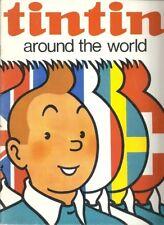 TINTIN AROUND THE WORLD PUBLICITE DOSIER DE PRESSE