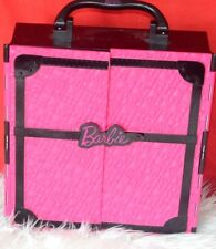 Barbie Pink Fashionistic Closet Clothes Carrying Case Storage Furniture Toy