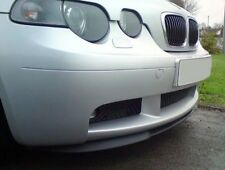 BMW E46 GENUINE Compact FRONT BUMPER lower SPLITTER SPOILER PTN Trim Lip Addon