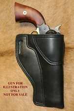 """Gary C's Leather Black Powder Revolver RH HOLSTER Colt 1858 Army Sheriff 5-1/2"""""""