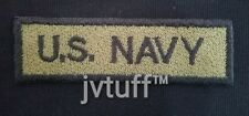 US Navy, Military, Embroidered Patch Iron On / Sew On, Biker, Motorcycle Vest