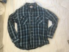 Men's Levi's LVC Plaid Flannel Shirt XL