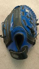 "4612 Franklin 9.5"" BLUE Vinyl & Faux Leather RTP Series Youth Baseball Glove RHT"