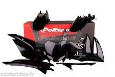 Kit plastiques Coque Polisport  Honda CRF110F de 2013 à 2016   Couleur: Noir