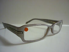 Genuine Designer Glasses Frames Patrick Cox Chunky Grey/Diamonds 9OPC005-4 1169