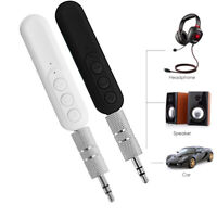 Bluetooth Wireless 3.5mm AUX Car Stereo Audio Music Receiver Handsfree Adapter