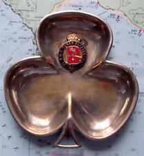 Selten Original Alt RMS Queen Elizabeth White Star Line Clubs Nüsse Schale Ein