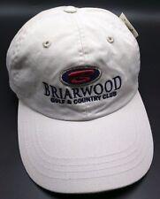 BRIARWOOD GOLF & COUNTRY CLUB beige adjustable cap / hat
