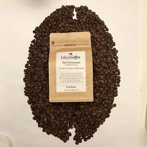 Bali Kintamani Organic Gourmet Hand Roasted Arabica Coffee Beans Grounds QG 90+