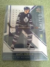 2006-07 Sp Authentic Mats Sundin Limited Parallel #d/100 Toronto Maple Leafs