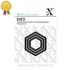 Xcut Metal Dies *NESTING HEXAGONS* 3 Piece - by DoCrafts - Die Cutting