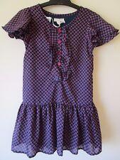 Girls Pumpkin Patch chiffon drop waist dress Size 6