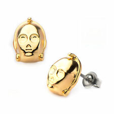 Star Wars 3-CPO 3D Face Stud Earrings