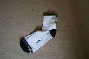 De Feet world champion cycling socks. Size XL. Brand New