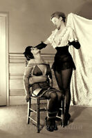 """1950's Two Women Wash Your Mouth With Soap Fetish Fun Photo 4""""x6"""" Reprint 83"""