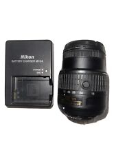 Nikon AF-S DX NIKKOR 18-55mm f/3.5-5.6G VR II Lens WITH NIKON BATTERY CHARGER!