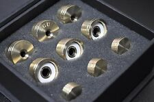 Bach Strad Trumpet Trim Kit V6 Medium Caps. KGUBrass. Raw Brass. TKV6mR261