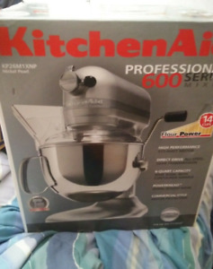 KitchenAid Pro RKP26M1XCU 600W Large Capacity Stand Mixer