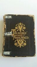 TREASURES FROM THE PROSE WORLD 1883 FRANK MCALPINE ILLUSTRATED BIO SKETCHES