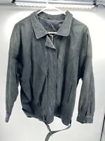 Women's Maggie Lawrence Black Leather Jacket Size M