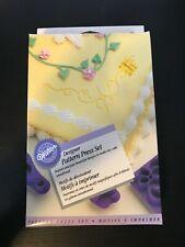 1996 Wilton Designer Pattern Press Set of 8 New in Box NOS