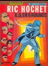 TIBET & DUCHATEAU Ric Hochet : K.O. en 9 rounds, Dargaud 8.1980 EO Rare NEUF