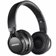 Mpow Thor Wireless Bluetooth Stereo Headphone Over-ear Foldable Headset w/Mic US