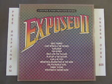 VA EXPOSED II DBL LP PSYCHEDELIC FURS OMD TOMMY TUTONE BILLY THORPE THE HITMEN