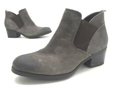Rockport Danii Chelsea Womens Grey Suede Slip On Ankle Booties Size 7