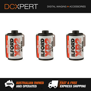ILFORD XP2 SUPER ISO 400 35MM 36 EXPOSURE BLACK & WHITE FILM (1839575) (3 PACK)
