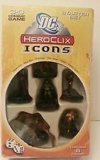 DC Heroclix Icons Starter Set NEW 3-D Combat Game