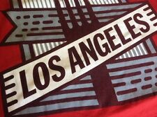 Johnny Cupcakes LARGE red T shirt LOS ANGELES