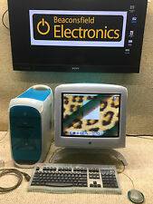 Powermac G3 (Blue & White) & CRT APPLE STUDIO DISPLAY~KEYBOARD & MOUSE