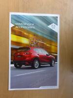 AUSTRALIAN CAR SALES BROCHURE MAZDA CX-5 ACCESSORRIES. 2014