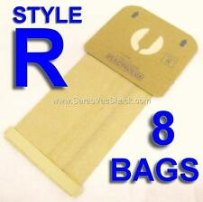 8 Bags for Electrolux Canister Vacuum Cleaners Style R