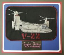 """V-22 Osprey, Military Embroidered Patch Approx Size 6.5"""" x 9.5"""""""