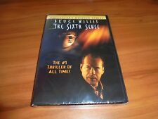 The Sixth Sense (DVD, 2000, Widescreen) 6th  Bruce Willis NEW
