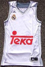 Real Madrid Baloncesto camiseta Jersey adidas señores tamaño/size S + nuevo + Weiss