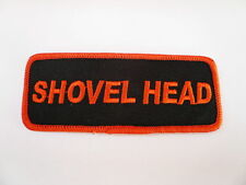 Shovelhead, Harley, parche, Patch, aufbügler, badge, Biker, Chopper, Old School