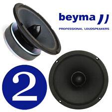 "Beyma 6Mi80 6.5"" inch Midrange Speakers 100 Watt RMS 8 ohm, PAIR (2 pcs)"
